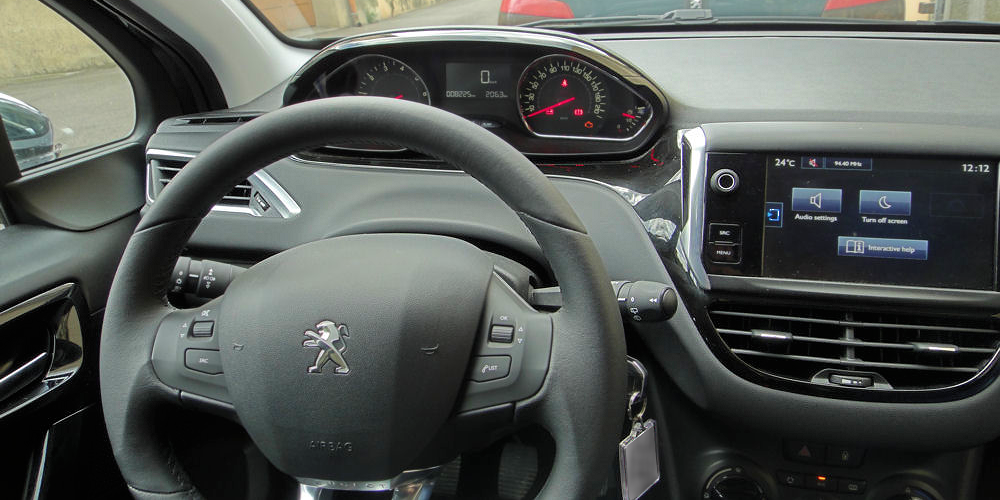 A Small Steering Wheel Honest About Cars