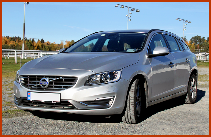 The V60 got a facelifted front in 2014.