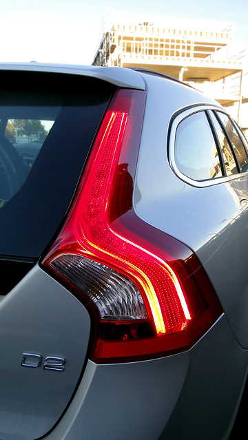 Stylish rear lights.