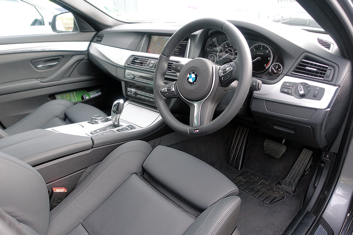 BMW's designers know how to create the perfect driving position.