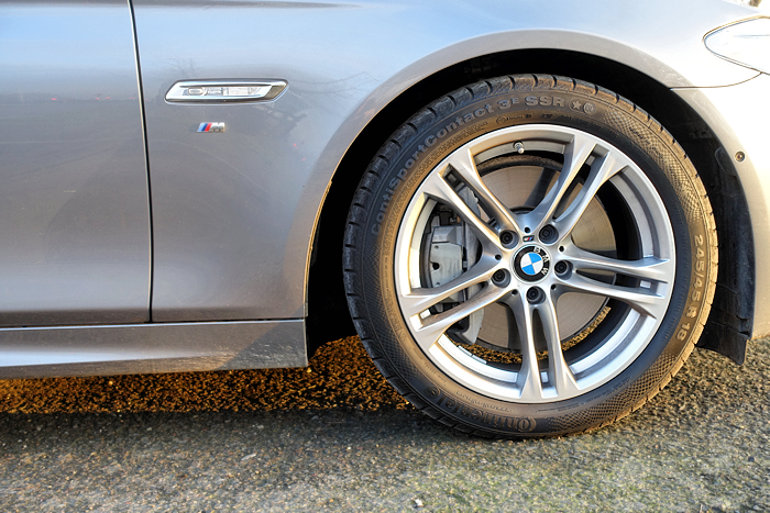 Brakes can be decorative, as here.