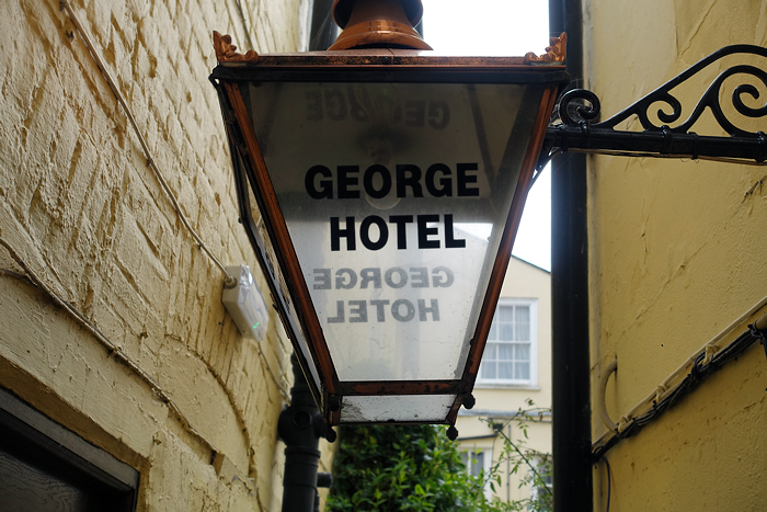 The George Hotel, Colchester.