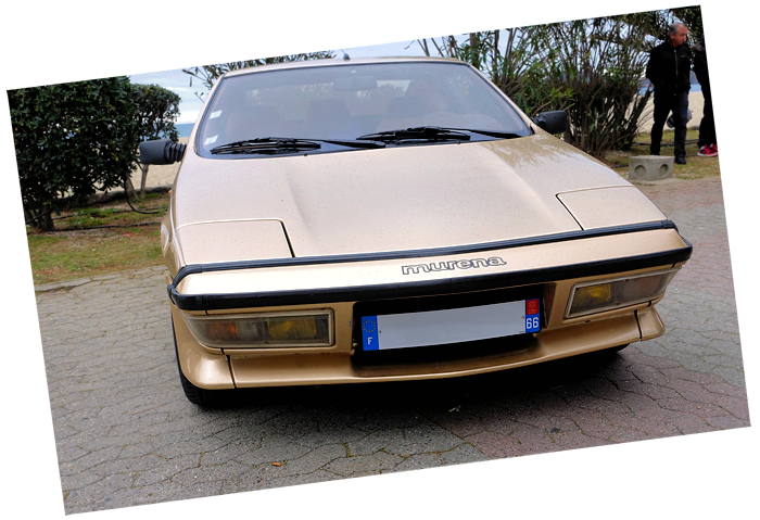 Matra Murena (Simca/Talbot) from the late seventies is very rare today.