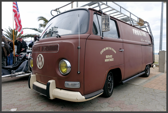 What's better than going to the beach in a VW Bus?